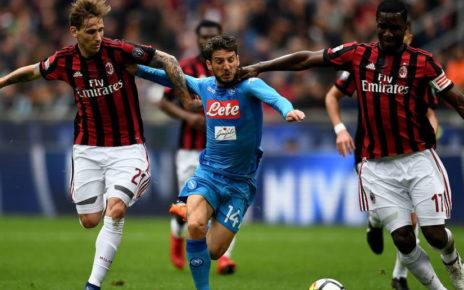 Prediksi Bola Jitu AC Milan vs Napoli 27 Januari 2019