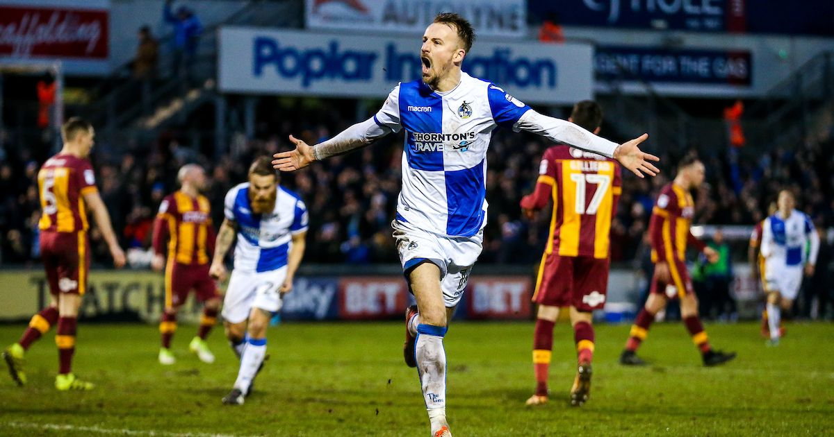 Prediksi Bola Jitu Bristol Rovers vs Bradford City 13 April 2019