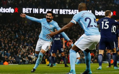 Prediksi Bola Jitu Tottenham Hotspur vs Manchester City 10 April 2019