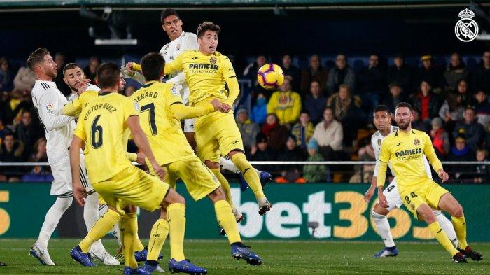 Prediksi Bola Jitu Real Madrid vs Villarreal 5 Mei 2019